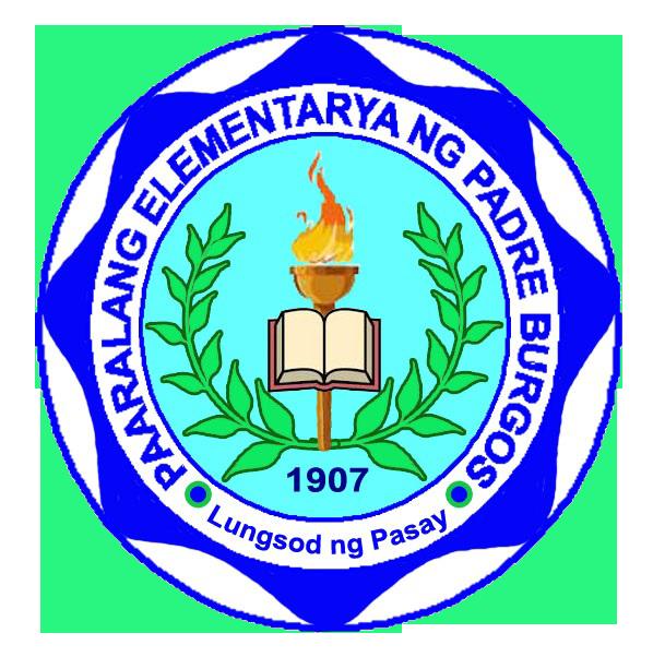 Padre Burgos Elementary School Official Logo
